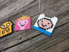 Handmade Inspired by Adventure Time Party Favor Necklaces //