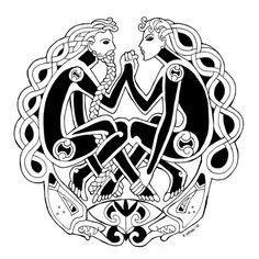 50 Celtic Tattoos That Should Be In Your Next Tattoo List - Yo Tattoo - Celtic Tattoos, Designs And Ideas - Celtic Tattoos For Men, Celtic Tattoo Symbols, Celtic Art, Viking Tattoos, Tattoos For Guys, Celtic Dragon, Celtic Patterns, Celtic Designs, Body Art Tattoos