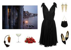 """""""Dusk"""" by nibli ❤ liked on Polyvore featuring Alexander McQueen, Koret, Alexis Bittar and Crate and Barrel"""