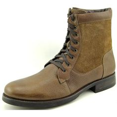 Gianvito Rossi Treviso-2 Men Leather Brown Ankle Boot