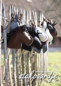 DIY stokpaard maken in 15 minuten - Indianenfeestje - Moodkids | Moodkids