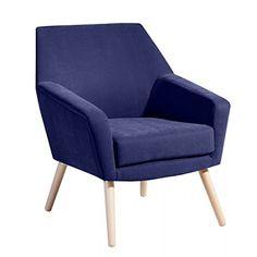 Max Winzer Retro-Sessel Alegro - angesagter Cocktailsessel im Stil der Fünfziger in 12 Farben - weicher Glattstoff