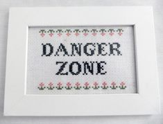 Geriljabroderi - salg før kr 140 Letter Board, Cross Stitch Patterns, Diy And Crafts, Sewing Projects, Collage, Diagram, Embroidery, Humor, My Love