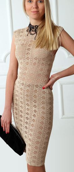 McCofee crochet dress