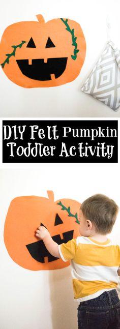 DIY Felt Pumpkin Tod
