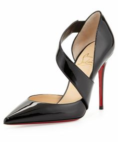Christian Louboutin Ograde Cross-Strap Pump #Refinery29