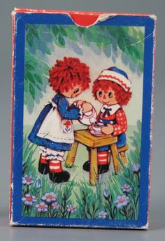 Raggedy Ann & Andy Playing Cards