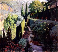 The Athenaeum - The Green Wall (Santiago Rusiñol Prats - )