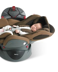 Car seat (0 - 4 yrs) http://www.aprica.com.tw/products/childseat/bed.html
