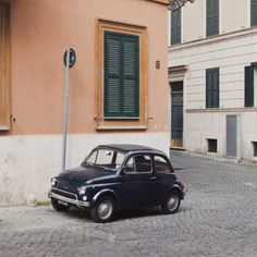 ✕ A darling little car / #europe #fun