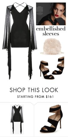 """""""Make a statement"""" by yara-mikhael-deeb ❤ liked on Polyvore featuring Balmain, Carvela and Sole Society"""