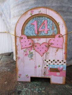 mailbox box using Cutting Cafe cutting file