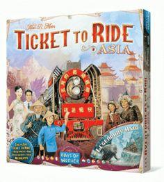 aventureros al tren asia juego de mesa