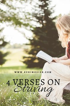 4 Verses on Striving