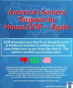 The House GOP continues to target programs like Social Security and Medicare to pay down the deficit.