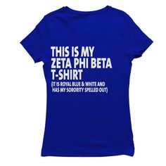 Hey, I found this really awesome Etsy listing at https://www.etsy.com/listing/243470074/zeta-phi-beta-this-is-my