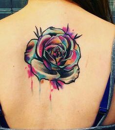 Chicanas Tattoo, Bff Tattoos, Badass Tattoos, Piercing Tattoo, Cute Tattoos, Flower Tattoos, Body Art Tattoos, Small Tattoos, Water Color Tattoos