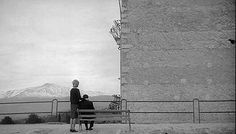 "Gabriele Ferzetti & Monica Vitti. ""L'Avventura"", Michelangelo Antonioni (1960)."