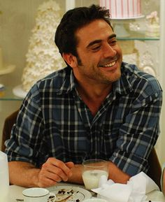 Jeffery Dean Morgan  Accidental Husband. The plus of this movie is that it also has Colin firth in it. :)