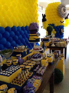 Despicable Me / Minions Birthday Party Ideas | Photo 3 of 7 | Catch My Party