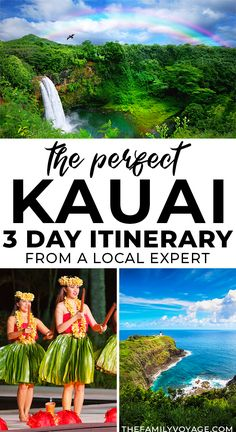 Planning a quick trip to Hawaii? Get the perfect Kauai itinerary for 3 days, written by a local expert! Even if you're planning 5 days in Kauai or longer, you can use this to plan your days off the beach to make the most of your time. #Kauai #Hawaii | Kauai Hawaii things to do in | Hawaii travel | where to stay in Kauai | what to do in Kauai Kauai Hawaii, Hawaii Vacation, Hawaii Life, Oahu, Croatia Travel, Thailand Travel, Bangkok Thailand, Hawaii Things To Do, Hawaii Travel Guide