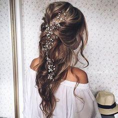 Peinado simple y boho para #novias