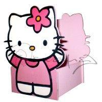 Κασπώ για διακόσμηση τραπεζιών με τη Hello Kitty διαστάσεων 17 x 15 εκ.   #hello_kitty #kaspo #vaptisi #diakosmisi_vaptisis