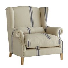 Huge Wingback chair. Perfect  for reading a good book in.