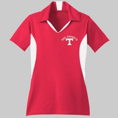 Toronto Logo Embroidery  - Ladies Side Blocked Micropique Sport Wick® Polo