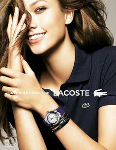 #KarlieKloss for #LACOSTE