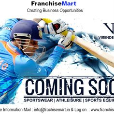 Viru Retail is into manufacturing and retailing of sports wear and sports equipments catering economy class. Retail Franchise, Sport Wear, Sports Equipment, Athleisure, Catering, Athletic Wear, Sports Costumes, Catering Business, Athletic Clothes