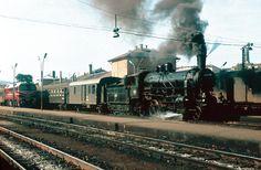 Budapest, Déli pályaudvar Train Engines, Commercial Vehicle, Hungary, Budapest, Trains, Landscapes, Retro, Vehicles, Paisajes