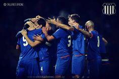 Vamos todos juntos. Vamos final a final. Vamos #Talleres.  Vamos todos juntos. Vamos final a final. Vamos #Talleres.