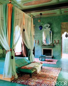 Moroccan Style Bedroom moroccan lighting |  exotic desert feel into your bedroom with