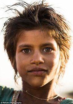 French photographer Rehahn spent 10 days touring Rajasthan taking spectacular portraits of children