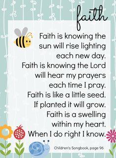 Jedi Craft Girl: Faith Day #4...use diff verse...faith of mustard seed...