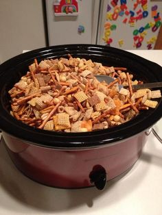 Chex mix is a must-have for ANY party. #snapguide #contest