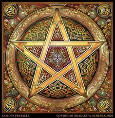 Pentacle... again, the Irish and Witch in me represented!
