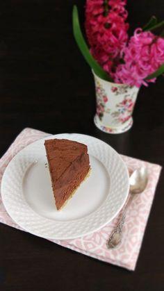 Tort low-carb de ciocolată.