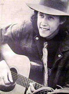 """Arlo Guthrie...ALICE'S RESTAURANT! """"blood and gore and guts and veins in my teeth..KILL!"""" You can get anything you want at Alice's restaurant"""". I used to know EVERY word to the whole album side of this ditty :)"""