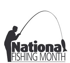 Anyone want to go fishing? July is the perfect time because it is National Fishing Month! Fishing, Arms, Holidays, Logo, Google Search, Vacations, Holidays Events, Logos, Peaches