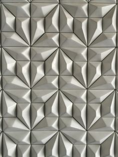 Home Wall Panels arşivleri - Deco Garden-Design Concrete Design, Tile Design, Pattern Concrete, Design Room, Wall Patterns, Textures Patterns, Origami Wall Art, 3d Wall Tiles, Geometric 3d