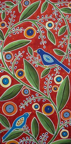 Birds In Blooms by Karla Gerard