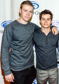 Wondercon: Will Poulter & Dylan O'Brien - will you're basically a titan