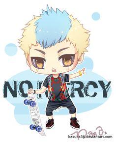 No Mercy - Zelo by Kasuka36.deviantart.com