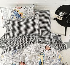 Ripley Sheet Set Range Black - Kids | Manchester Warehouse