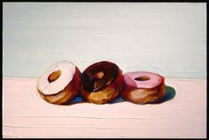 donughts - wayne thiebaud