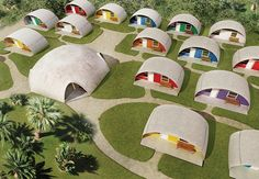 Domes made with conc