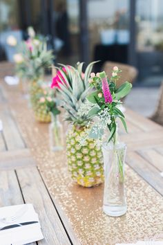 cf5177f7986a Perfect Accessories For A Florida Wedding  Flamingos   Pineapples