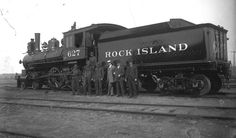 """Photo: Rock Island locomotive #627, c. 1880. Credit: William Edward Hook; Wikimedia Commons. Read more on the GenealogyBank blog: """"First Train Robbery in U.S. History?"""" https://blog.genealogybank.com/first-train-robbery-in-u-s-history.html"""